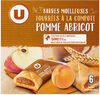 Barres compotes pomme abricot - Product