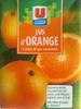 Jus d'orange à base de concentré U - Produit