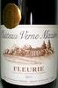 Fleurie Chateau Verne Mazière 2011 - Product