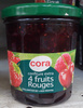 Confiture extra 4 fruits rouges - Product