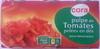 Pulpe de Tomates pelées en dés (Lot de 3 x 400 g) - Produkt