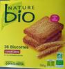 Nature bio - Biscottes complètes - Produit