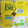 Yaourt bio nature - Product