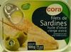 Filet de sardines à l'huile d'olive vierge extra - Prodotto