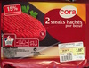2 steaks hachés pur bœuf (15 % MG) - Product