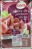Noix de jambon sèche (10 tranches fines) - Product