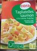 Tagliatelles saumon à la crème fraîche, Surgelé - Produit