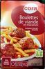 Boulettes de viande et macaroni à la sauce tomate - Produit