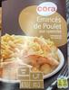 Émincés de Poulet aux spaetzles, sauce aux champignons - Produit