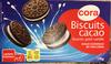 Biscuits cacao fourrés goût vanille - Produit