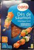 Dés de saumon Atlantique fumé - Product