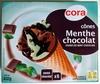 Cônes Menthe Chocolat sauce Chocolat - Product