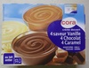 Crème dessert (4 saveur Vanille, 4 Chocolat, 4 Caramel) - Product