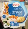 Petit Plat Légumes, riz et colin d'Alaska - Product