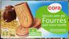 Biscuits petit déj' Fourrés goût choco-noisette - Product