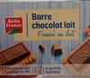 Barre chocolat lait, fourré au lait - Produit