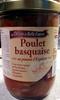 Poulet basquaise au piment d'Espelette - Produit