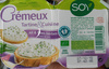 Crémeux Tartine & Cuisine Ail & Fines Herbes à base de tofu - Product
