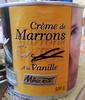 Crème de Marrons à la Vanille - Produit