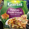 Potatoes Poulet Kebab sauce Blanche - Produit