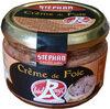 Crème de foie Label Rouge - Prodotto