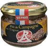 Pâté de Campagne au Cognac Label Rouge - Prodotto