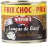 Langue De Bœuf Sauce Madère - Prodotto