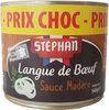 Langue de boeuf sauce Madère - Product