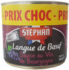 Langue de bœuf sauce au vin de Bourgogne - Prodotto