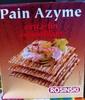 Pain Azyme - Produit