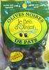 Olives noires de pays - Product