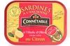 Sardines à l'Ancienne à l'Huile d'Olive vierge extra au Citron - Product