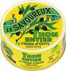 Thon albacore à l'huile d'olive LE SAVOUREUX 80g - Product