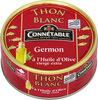 Thon blanc huile olive v.e. 160g Cble - Produit