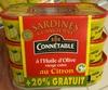 Sardines au Citron (+ 20% GRATUIT) - Produit