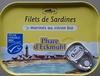 Filets de sardines marinés au citron bio - Product
