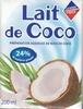 Lait de Coco - Prodotto