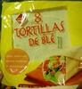 8 tortillas de blé - Product