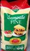 Semoule Fine (100 % Blé dur) - Produit