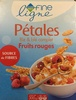 Pétales Riz et blé complet - Fruits rouges - Produit