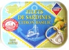 Filets de Sardines (Citron Basilic) - Product