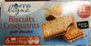 Biscuits Croquants goût Chocolat - Product