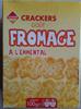 Crackers goût fromage à l'emmental - Product
