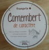 Camembert de caractère (21 % MG) - Product