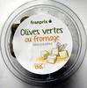 Olives vertes au fromage dénoyautées - Produit