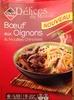 Boeuf aux oignons & nouilles sautees chinoises - Produit
