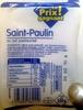 Saint-Paulin au lait pasteurisé - Prodotto