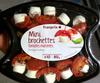 Mini brochettes tomates marinées Fromage de chèvre - Produit