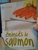 Émincés de saumon - Product