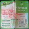 Allumettes nature - Produit